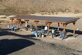 to build shooting range