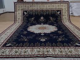 11 x 16 hand knotted brand new wool and silk sino persian tabriz oriental area rug 12980772 goodluck rugs