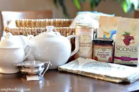 mother s day gift ideas how to put together an english tea party gift basket