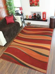 orange rugs usa santa ana bold paisleys rug