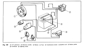 1971 honda cb100k1 stalls out when using headlight signals help electrical diagram for cb100