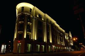 office building facades. Building Facade Lighting Of Banks Office At Street In Part 2 Philips Facades