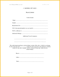 Bill Of Sale For Car Nc Gallery Of Horse Bill Sale Template Beautiful Blank Form
