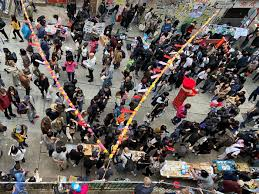 Hong Kong rings in Chinese <b>New Year</b> with protest-themed <b>gifts</b> ...