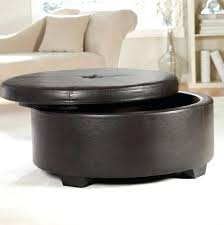 black leather ottoman coffee table large size of leather ottoman coffee table with storage round leather