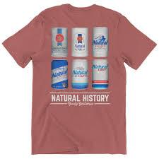 Natty Light Shirt Natural History