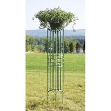 square on squares wrought iron pylon trellis achla designs trellises outdoor living outdoo achla designs wrought iron