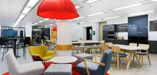office desing. central london office fit out with relaxing chairs desing s