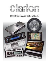clarion ms owner`s manual
