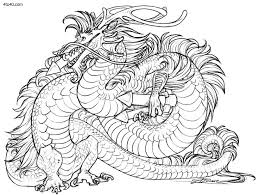 Small Picture Tiger Dragon Coloring Pages For AdultsDragonPrintable Coloring