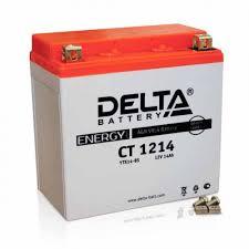 Аккумулятор <b>Delta</b> мото 14 ач (CT 1214 AGM) - Аккумуляторный ...