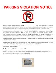 notice of violation template download 10 best of violation notice template lease document and