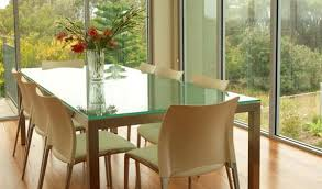 protecting your furniture with glass