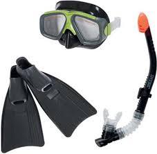 "<b>Набор для плавания Intex</b> ""Серфингист"", маска, трубка, ласты ..."