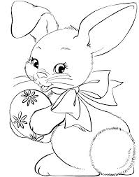 Cute Bunny Coloring Pages Cute Bunny Coloring Pages To Print S Cute