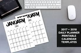 planning calendar template 2018 planner calendar 2017 2018 stationery templates creative market