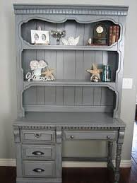gray furniture paint25 best Gray desk ideas on Pinterest  Desks Rustic desk and