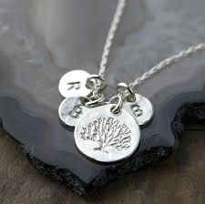 personalized new mom jewelry gift for mother handmade family tree