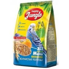 <b>Happy Jungle</b> корм для <b>волнистых</b> попугаев