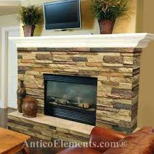 refacing fireplace with stone sand color fireplace refacing kits stone