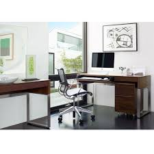semblance office modular system desk. cascadia contemporary desk by bdi modern office for home or business work organization semblance modular system