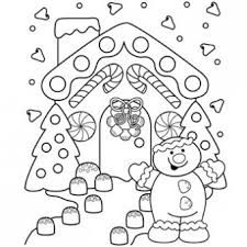 Small Picture Gingerbread Lane Coloring Page Free Christmas Recipes Coloring