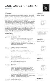 Paralegal Resume Skills Mesmerizing Resume Sample Paralegal Resume Samples Playcineorg