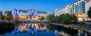 Park Row Lighting Arlington Texas Dfw Hotels In Grapevine Tx Gaylord Texan Resort
