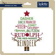 Reindeer List 3 Lori Whitlocks Svg Shop