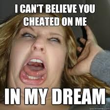 Momentarily insane Girlfriend memes | quickmeme via Relatably.com
