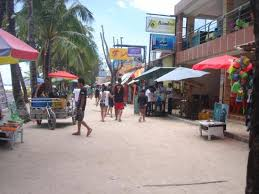 Image result for Boracay front beach