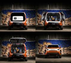 Toyota FT-4X Concept is a modern 4x4 toolbox for intrepid ...