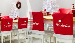 Chairs:Striking Christmas Chair Covers Images Ideas Personalised Seat  Decoration Treats On Trend 88 Striking