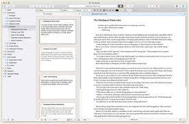 Free Apa Writing Software Scrivener Literature Latte
