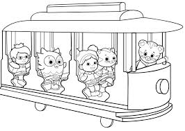 Tiger Coloring Pages Cute Tiger Drawing Free Tiger Coloring Pages