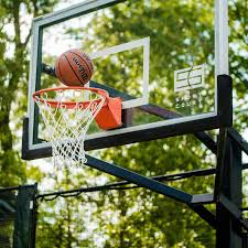 interest outdoor basketball backboard