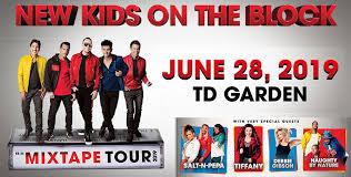 New Kids On The Block Mixtape Tour With Salt N Pepa