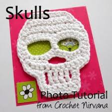 Skull Crochet Pattern Simple Day Of The Dead Skull Pattern By Kristin Canganelli Crochet