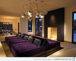 Small Picture 15 Pretty in Purple Living Room Furniture Home Design Lover