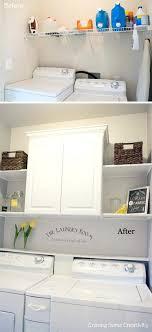 laundry room makeover unfinished basement19 makeover