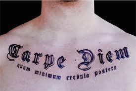 138 Tetování Carpe Diem Punditschoolnet