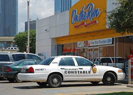 Dallas County Constable Ironically Parked In Front Of On T Flickr