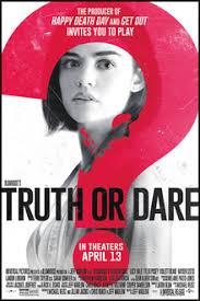 Truth Or Dares Truth Or Dare 2018 Film Wikipedia