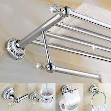 Best Bath Decor bathroom hardware accessories : Crystal Bathroom Accessories Sets - Home Design