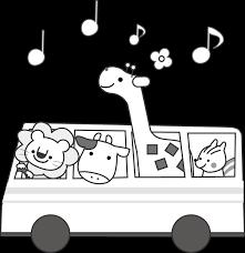 バスのイラスト無料イラストフリー素材