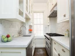 Small galley kitchen Kitchen Remodel Small White Galley Kitchen With Sink Across From Stove Decorpad Small White Galley Kitchen With Sink Across From Stove