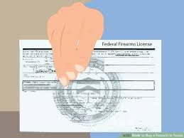 Texas Ways Wikihow To 5 Firearm Buy In A -