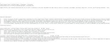 Ascii Format Resume Sample Plain Text Resume Resume Meaning Resume