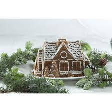 Gingerbread Kitchen Curtains Nordic Ware Gingerbread House Bundt Pan Reviews Wayfair