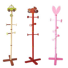 Simple Coat Rack 100 Hooks Children's Clothing Racks Creative Simple Floor Hangers 19